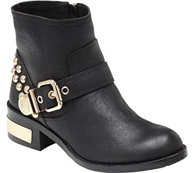 Vince Camuto Women's Windetta,Black Silk Goat,US 12 M