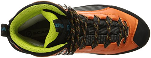 SCARPA Men's Charmoz Mountaineering Boot Shark/Orange outlet best store to get discount deals F2HWzK