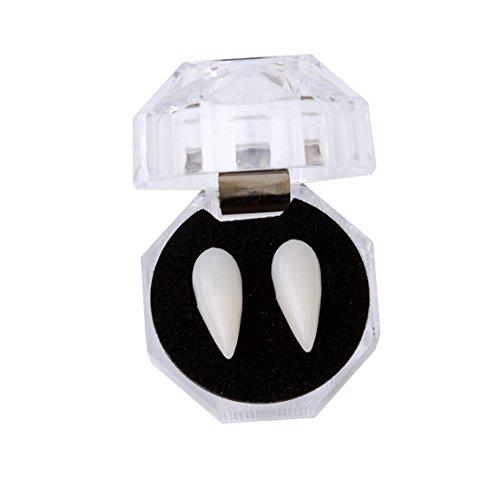 TraveT 19MM Vampire Teeth Fangs Dentures Cosplay Props