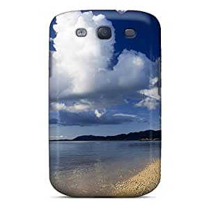 For STWanke Galaxy Protective Case, High Quality For Galaxy S3 Japan Beach Skin Case Cover