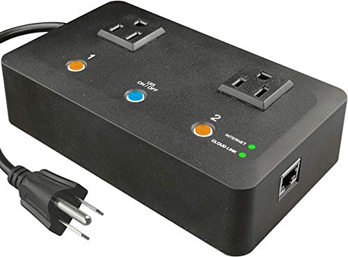 5Gstore App-Controled Remote Power IP Switch - 2 Outlets (US)