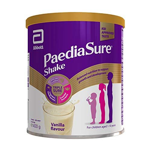 PaediaSure Shake Balanced Nutritional Supplement Drink | Multivitamin for Kids with Protein, Carbohydrates, Essential…