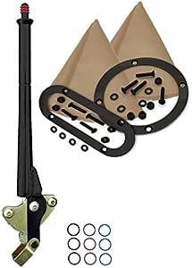 American Shifter 525070 Shifter Kit 4L80E 23 E Brake Cable Clamp For F4584