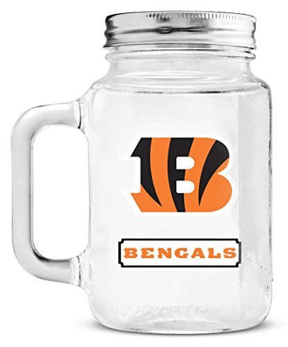 NFL Cincinnati Bengals Duckhouse 20 Ounce Mason - Mall Outlet In Arizona