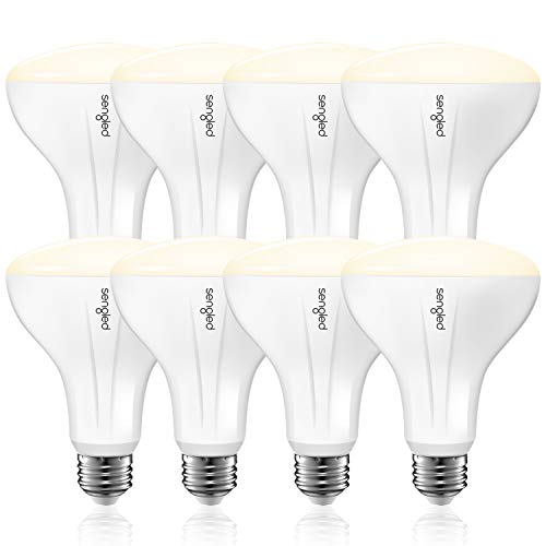 Sengled Smart Light Bulb that Works with Alexa and Google Home, BR30 Dimmable Soft White 2700K, Alexa Light Bulbs 65W Equivalent, 650 Lumen LED Light Bulbs with E26 Base, 2.4G&5G, Hub Required, 8 Pack