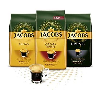 Jacobs Expertenrostung, grano de café, 3 x 1kg (3 Paquetes)