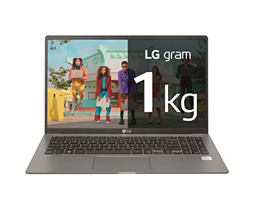 LG gram 15Z90N-V-AA72B – Ordenador portátil ultraligero de 15.6″ FullHD IPS (Intel Core i7-1065G7, 16GB RAM, 256GB SSD, Windows 10 Home+) Plata – Teclado QWERTY Español