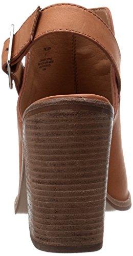Steve Madden tallen - Sandalias de vestir para mujer Cognac Leather