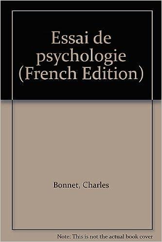 Book Essai de psychologie (French Edition)