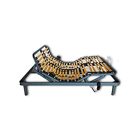 Ventadecolchones - Cama Articulada Reforzada Adaptator con Motor eléctrico Medida 105 x 190 cm: Amazon.es: Hogar