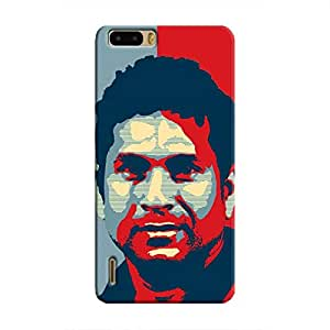 Cover It Up - Sachin Dichrome Honor 6 Plus Hard Case