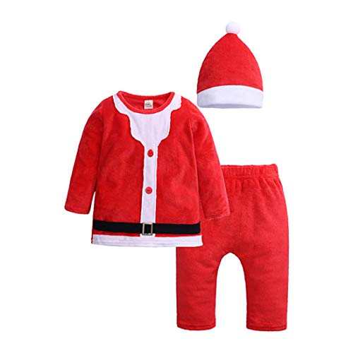 ModnToga Baby Boys'1 Piece Velvet Christmas Long Sleeve for sale  Delivered anywhere in USA