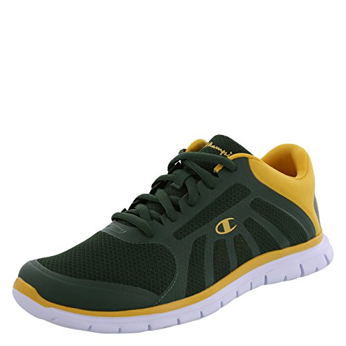 Champion+Men%27s+Green+Gold+Men%27s+Gusto+Runner+6+Regular