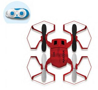 Galaxy Beatles 2.4G R/C 1:14 Scale Drone, Red (Backwards Beatles)
