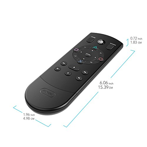 PDP Bluetooth Enabled Media Remote Control for Playstation 4