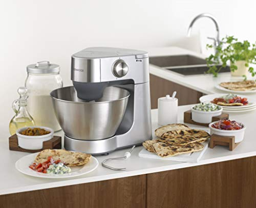 ماكينة تحضير الطعام بروسبيرو بتصميم مدمج من كينوود طراز KM287 بلون فضي