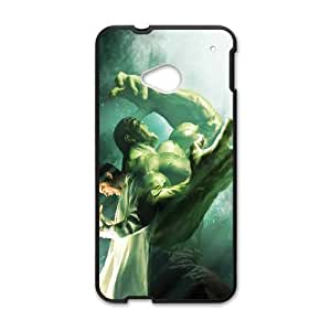 Bruce Banner Turning Into The Hulk Comic HTC One M7 Cell Phone Case Black Gift pjz003_3148901