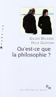 Qu'est-ce que la philosophie ?, Deleuze, Gilles