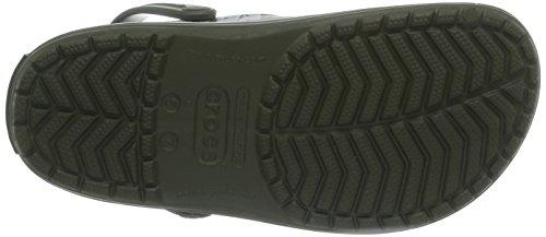 Crocs Crocband Imprimé Tropical Sabots Vert Armée / Vert Armée