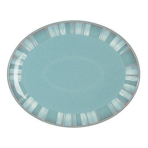 Denby Azure Coast Oval Platter -