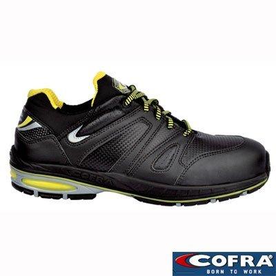Cofra scarpe di sicurezza Rapidity S1P SRC 19160–001New Jogging, traspirante; Nero, Nero, 19160-001