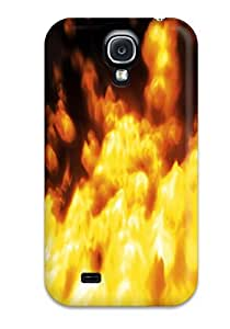 Hot Fashion LaIEBuh12226oWReT Design Case Cover For Galaxy S4 Protective Case (fire)