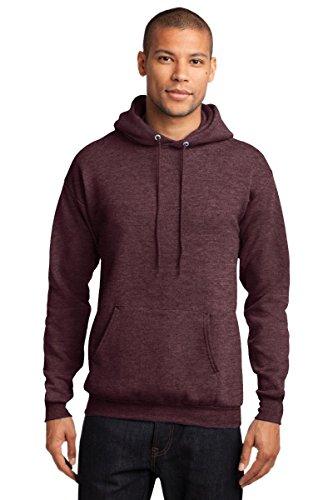 Port & Company Men's Classic Pullover Hooded M Heather Athletic - Fleece Hooded Sweatshirt Mens