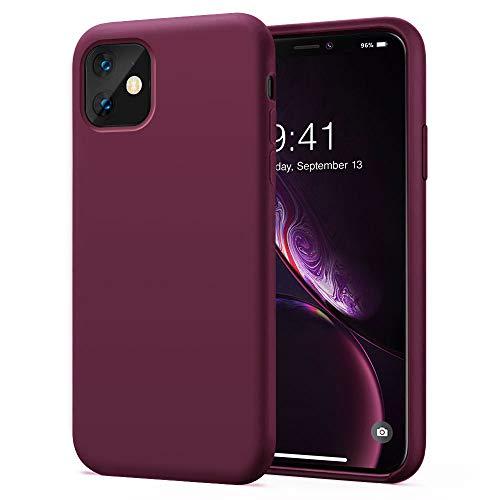 KUMEEK iPhone 11 Case, Soft Silicone Gel Rubber Bumper Case Anti-Scratch Microfiber Lining Hard Shell Shockproof Full…
