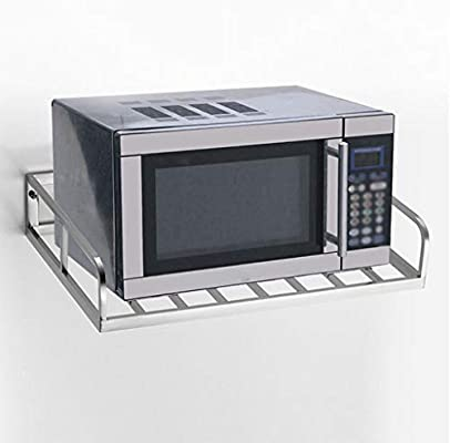 Amazon.com: Soporte para horno de microondas, una sola capa ...