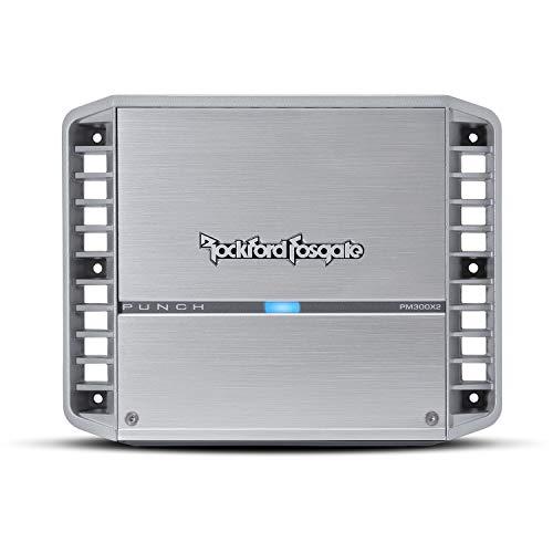 Rockford Fosgate PM300X2 Punch Marine300 Watt 2-Channel Amplifier (Amp 2 300w Ch)