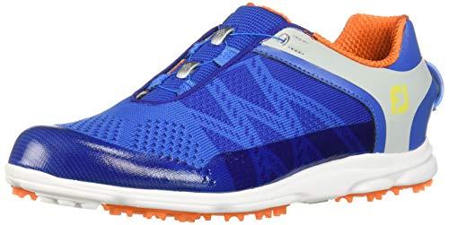 FootJoy Women's Sport SL Boa-Previous Season Style Golf Shoes Blue 7.5 M Orange, US