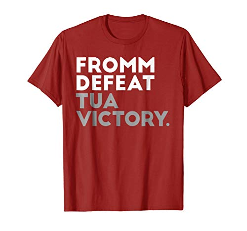 Alabama Fromm Defeat Tua Victory Game Day Football (Game Day Football T-shirt)
