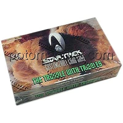 Decipher Star Trek Trouble with Tribbles Booster Box: Toys & Games