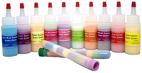 Sandy Candy Party Kit (10 Flavors) - 10 Bottles w/ 25, 5