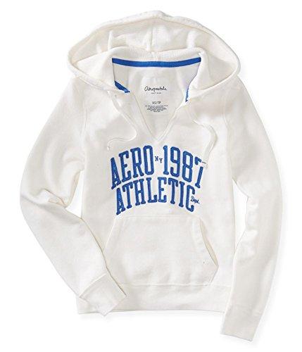 Aeropostale Womens Ny Athletic Hooded Hoodie Sweatshirt 047 XS (Clothing Aeropostale)