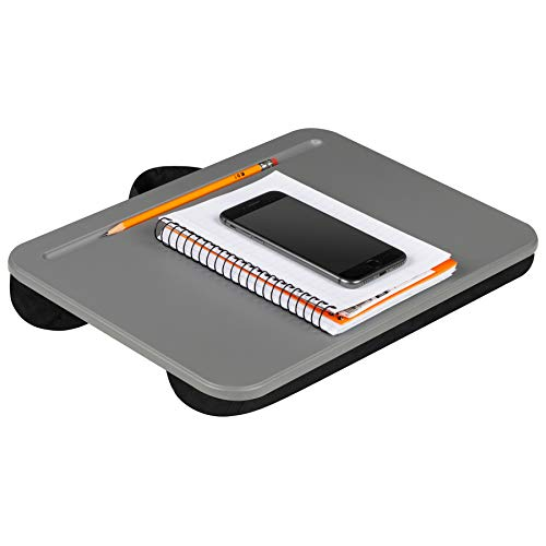 Lap Desk 43105 LapGear Compact Lap Desk - Charcoal (Fits up to 13