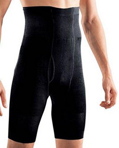 SODACODA Herren figurformende Unterwäsche - Shapewear Underwear - Schwarz (M)