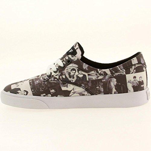 Huf Hombres Sutter Skate Shoe Black