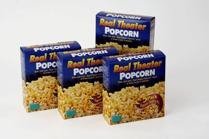 Wabash Valley Farms Real Theater Popcorn Popping Kit - Each Popping Corn Set Includes Gourmet Movie Theater Popcorn, Buttery Salt, and Popping Oil - Perfect for Movie Nights and More - 20 Pack by Wabash Valley Farms (Image #6)