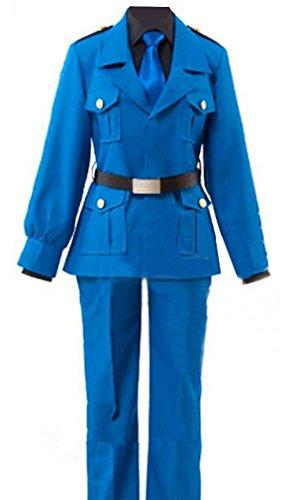 Axis Powers Hetalia Italy Cosplay Uniform Suit Outfit Custom Made S (Hetalia Halloween Italy)