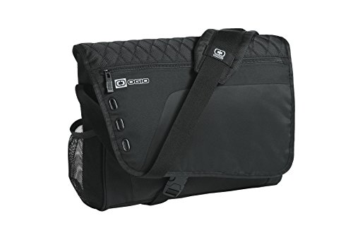 "OGIO Vault 16"" Computer Laptop Messenger Bag, Black"