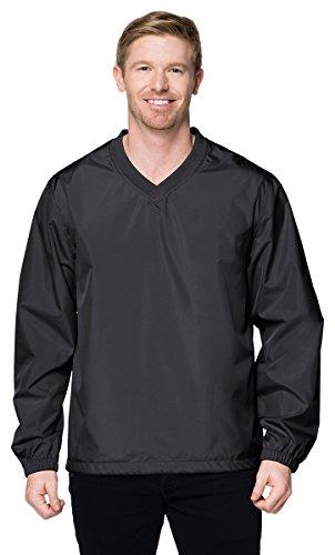 (Tri-Mountain J2450 Lightweight Windproof Polyester Shell Windshirt - Charcoal - M)