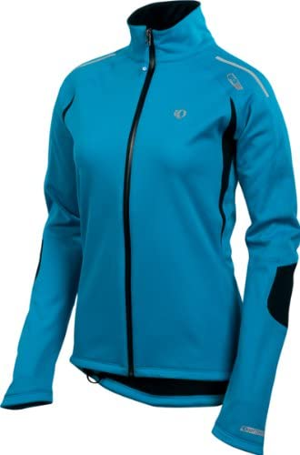 Pearl Izumi Womens Elite Softshell WxB Jacket,Blue Jewel,Large