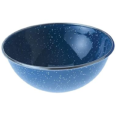 GSI Outdoors 32014 Mixing Bowl Stainless Rim 5.75 inch, Blue