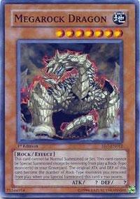 Yu-Gi-Oh! - Megarock Dragon (SD7-EN012) - Structure Deck 7: Invincible Fortress - 1st Edition - Common ()