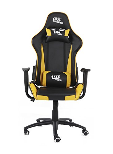 1337 Industries Silla GC757SP/BY - Negra Amarilla (Amarilla)
