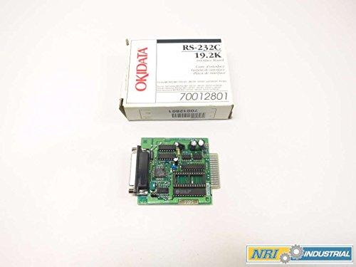 (NEW OKIDATA 70012801 4YA4021-1050 RS-232C 19.2K INTERFACE BOARD D522815)