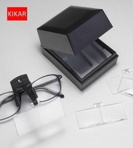 per adattarsi a tutte le specifiche KIKAR Lente dingrandimento a clip con 4 lenti intercambiabili
