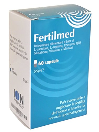 Fertilmed Male Fertility Supplement Improving Men's Conception, Quality and Quantity of Sperm (60 Capsules)