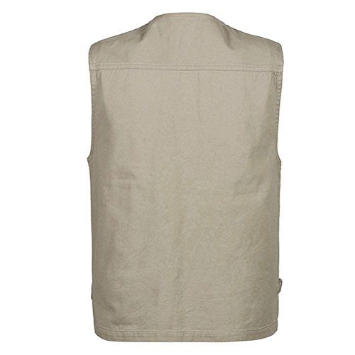 Mens Vest Sportswear deportiva Outdoor Chalecos Hombre Photography Fishing Khaki Camping Zhhlaixing Multi pocketed Ropa Traveling wgqxIq4FA
